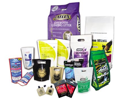 Chemical products packs