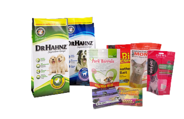 pet food packets banner