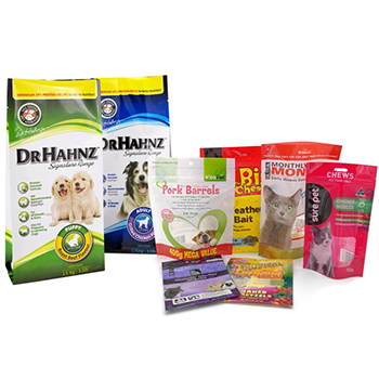 pet food packaging small